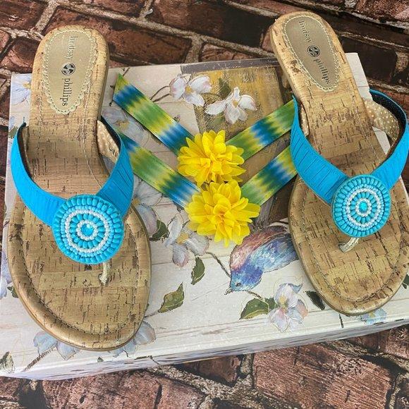 lindsay phillips Kitten Heel Switch Flops Sandals